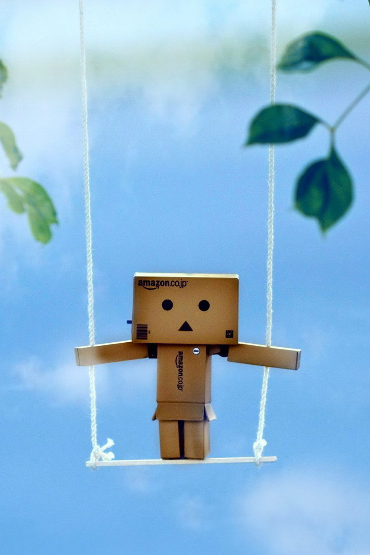 3d Box Robot On Swing Android Wallpaper