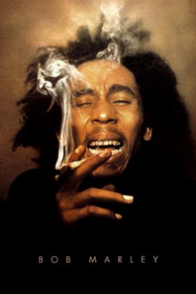 Bob Marley Laughing Sm...
