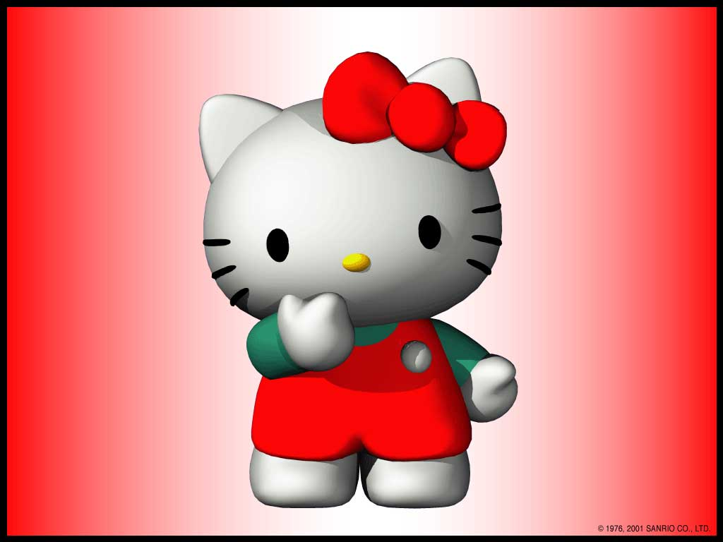 Must see Wallpaper Hello Kitty Android Phone - hello-kitty-3d  Pictures_381134.jpg