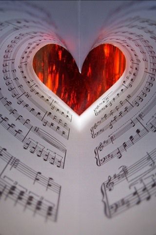 Love Music Sheet Android Wallpaper Download Your Screen Size 1024 X