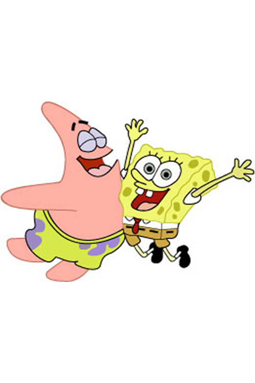 Spongebob And Patrick Belly Bump Android Wallpaper Download Your Screen Size 1024 X
