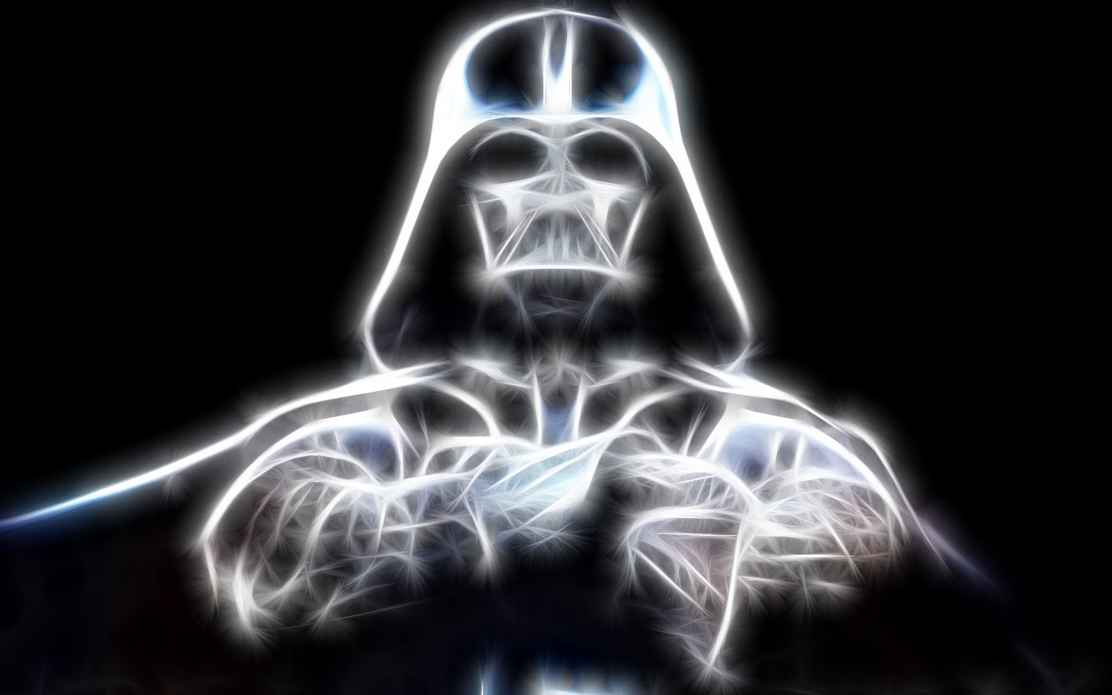 Star Wars Darth Vader Glowing Android Wallpaper