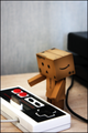 3D Box Robot Old School Controller android wallpaper