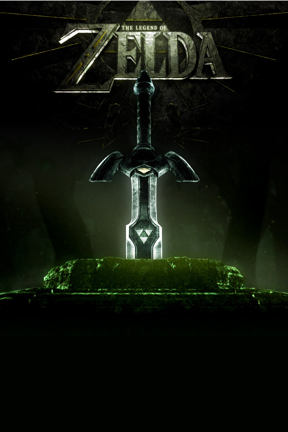 Zelda Title Sword Android Wallpaper