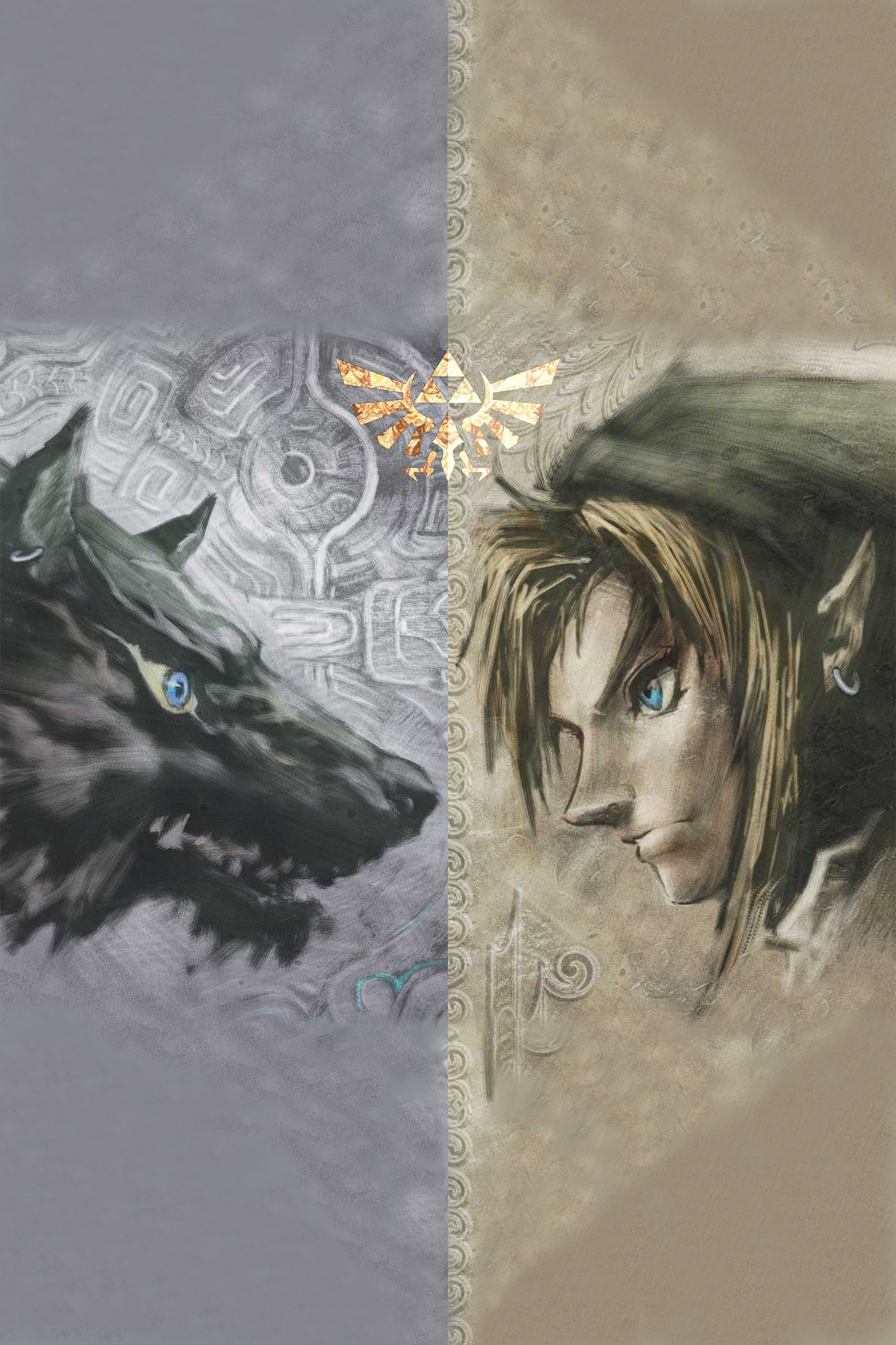 Zelda Twilight Princess By Darkshadowin Android Wallpaper Download Your Screen Size 1024 X